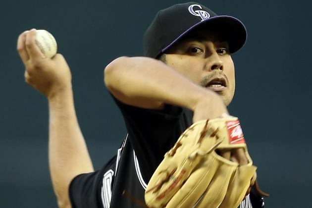 "Jorge De La Rosa ""well Ahead of Schedule"" Coming Back from Tommy John"