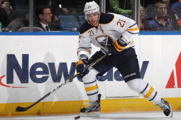 NHL Trade Rumors: Sabres Would Be Crazy to Give Up on Drew Stafford