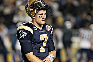 CFL 2012 Offseason: Alex Brink Signs New Contract with Bombers