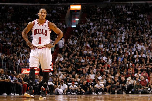 Derrick Rose Injury: Chicago Bulls Star Visits Specialist, Listed as Day-to-Day
