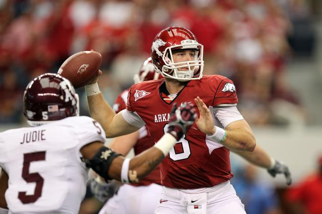 Arkansas Football: Is Tyler Wilson Among Elite College Football Quarterbacks?
