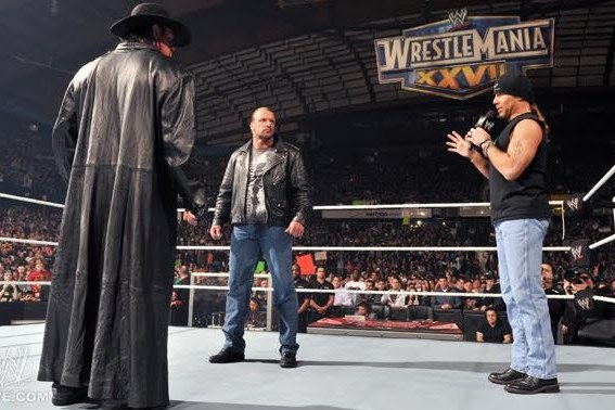 WWE: Is WrestleMania Triple Threat Match Imminent for HBK, Undertaker, Triple H?