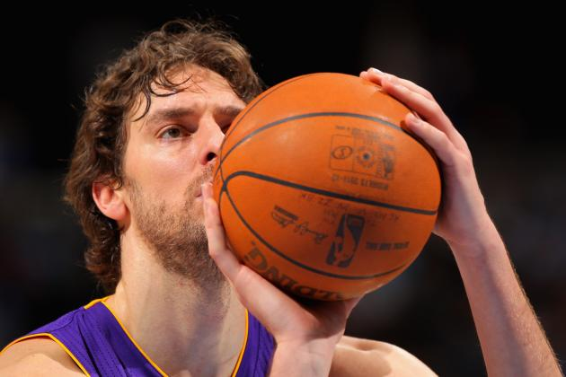 NBA Rumors: Can Charlotte Bobcats Acquire Pau Gasol from Los Angeles Lakers?