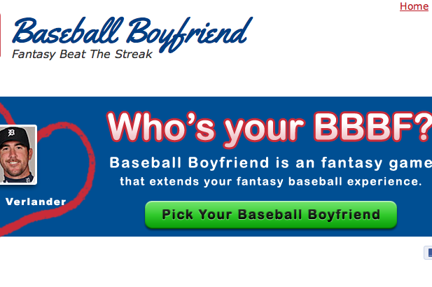 Fantasy Baseball Boyfriend App: Valentine Genius or Mini-Game Named to Fail?