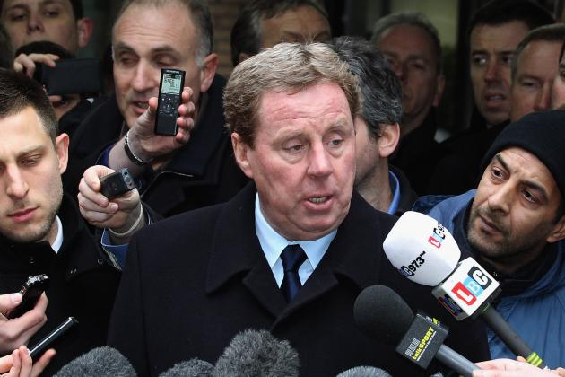 Harry Redknapp: New Manager for Euro 2012 Would Not Mean a New England