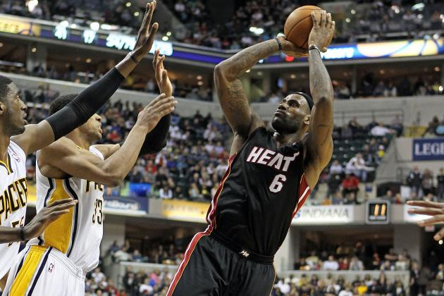 Miami Heat: LeBron's Near Triple-Double Leads Miami to Dominant Win over Pacers