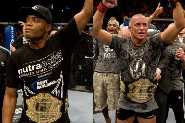 Anderson Silva Says Georges St-Pierre Is the Best Fight for Him in MMA