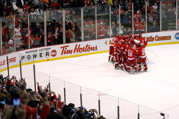 NHL Trade Rumors: How Detroit Red Wings 21 Home Wins Could Quiet Any Trade Talk