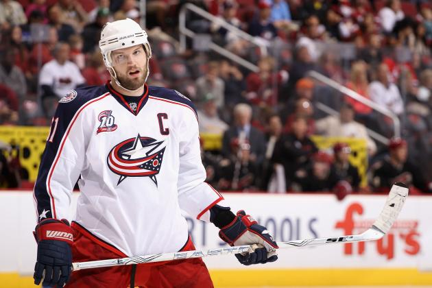 Rick Nash Trade Rumors: Teams Most Likely to Acquire Blue Jackets Star