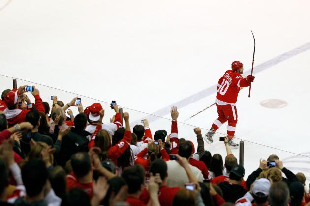 Detroit Red Wings Home Win Streak Not Better Than 1975-1976 Philadelphia Flyers