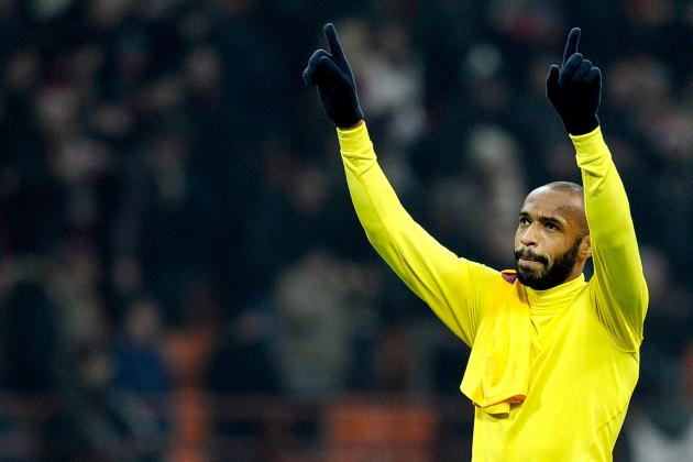 Thierry Henry Leaves Arsenal with Legacy Still Intact