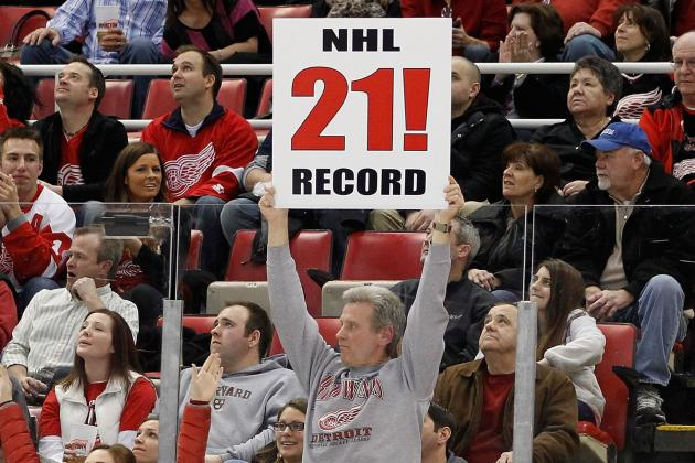 Detroit Red Wings: What Does the Home Winning Streak Mean?