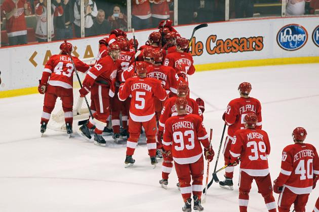 Detroit Red Wings: Does the Home Winning Streak Need an Asterisk?