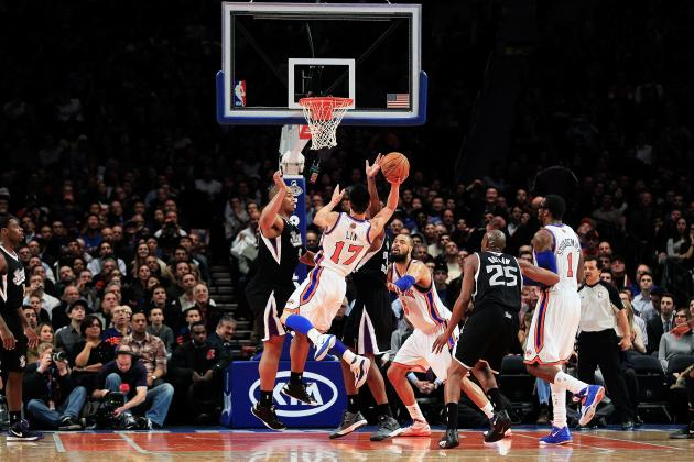 Jeremy Lin Drives MSG Linsane as New York Knicks Win 7th in a Row