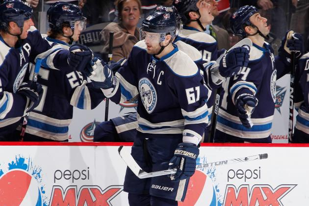 2012 NHL Trade Deadline: Why History Proves Blue Jackets Best Shipping Rick Nash