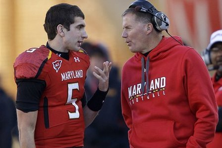 Maryland Football: Edsall Blocks O'Brien from Transferring to Vanderbilt