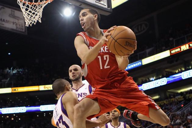Martin and Dalembert Lead Rockets Past Durant and Westbrook