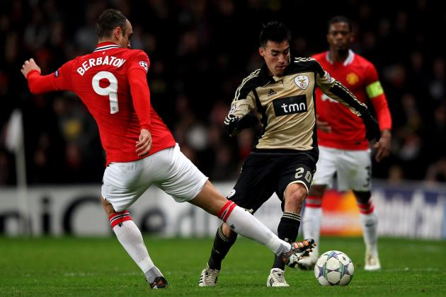 Manchester United: Nicolas Gaitan Could Be the Future of United's Midfield