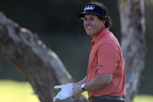 2012 PGA Tour: Riviera a Tough Test on Day One of the Northern Trust Open