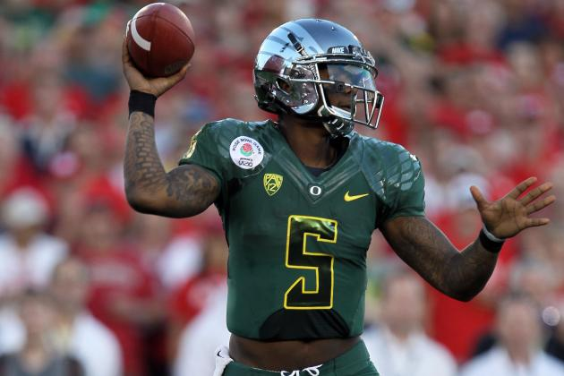 Oregon QB Darron Thomas 2012 NFL Draft Scouting Report