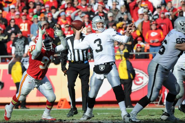 Carson Palmer Should Not Be the Oakland Raiders Starting Quarterback in 2012