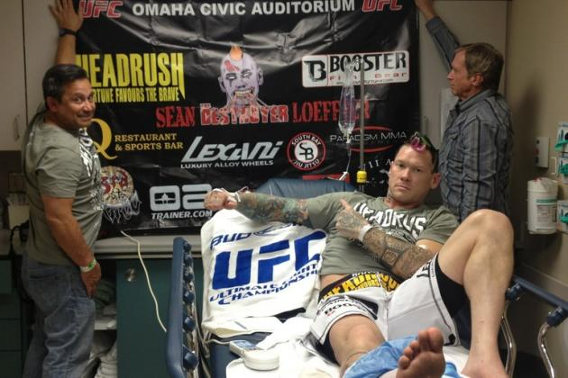 Sean Loeffler Talks Devastating Injury and Future in the UFC