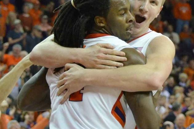 Clemson Basketball: Tigers Top Wake Forest and Virginia