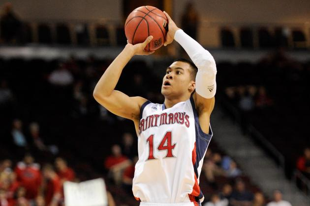 NCAA Basketball: Saint Mary's vs. Murray State with Holt, Dellavedova Injured
