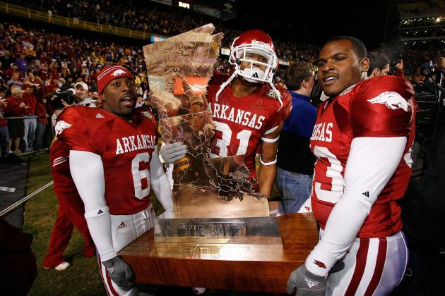 Arkansas Razorback Football: New Site for Battle for the Golden Boot