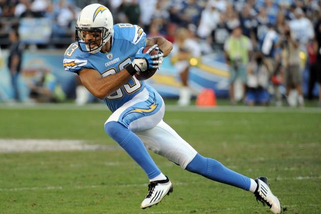 2012 NFL Free Agents: Can Chargers, Vincent Jackson Kiss and Make Up?