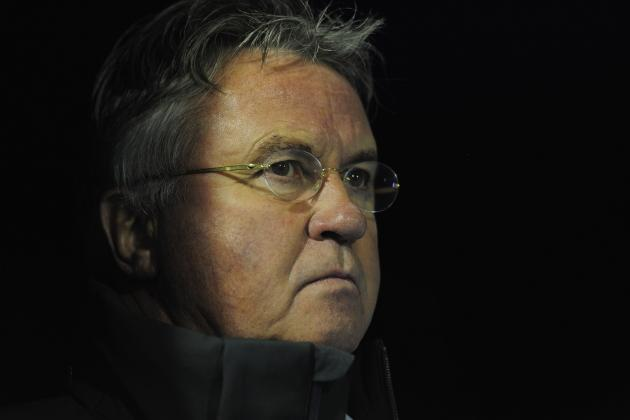 World Football: Guus Hiddink Becomes Anzhi Makhachkala Manager