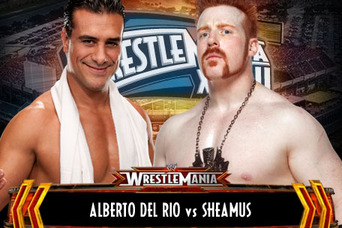 WWE WrestleMania 28: Sheamus vs Alberto Del Rio for the World Heavyweight Title?