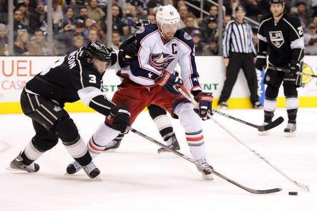Rick Nash Trade Rumors: Why Jeff Carter Fits Better for the Los Angeles Kings