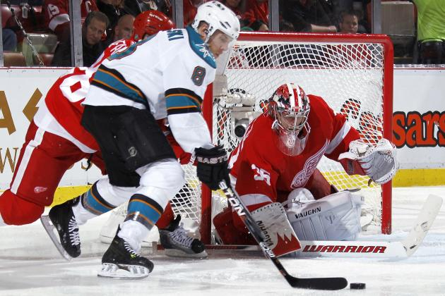 San Jose Sharks Stagger, Detroit Red Wings Swagger