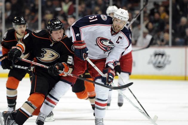 NHL:  Is Trading Rick Nash the Best Option for the Columbus Blue Jackets?