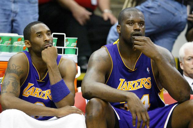Shaquille O'Neal Takes Veiled Shots at Kobe During Jersey Retirement Interview