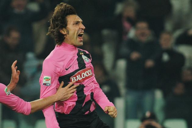 Pirlo Shines as Juventus Come from Behind to Beat Catania 3-1