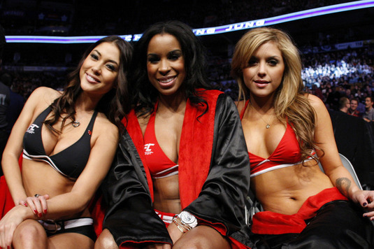 Ring Girl's Past Won't Cost Her UFC Job