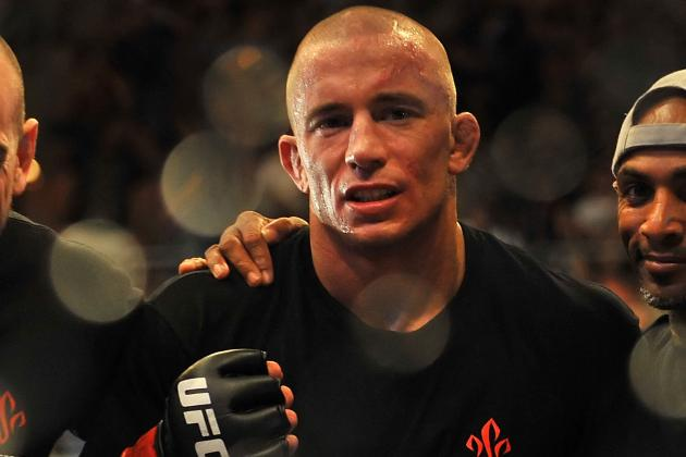 Georges St-Pierre Is the Only One Who Can Beat Himself in Welterweight Division
