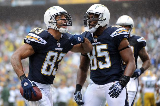 San Diego Chargers Offseason 2012: Part 4 Wide Receivers and Tight Ends