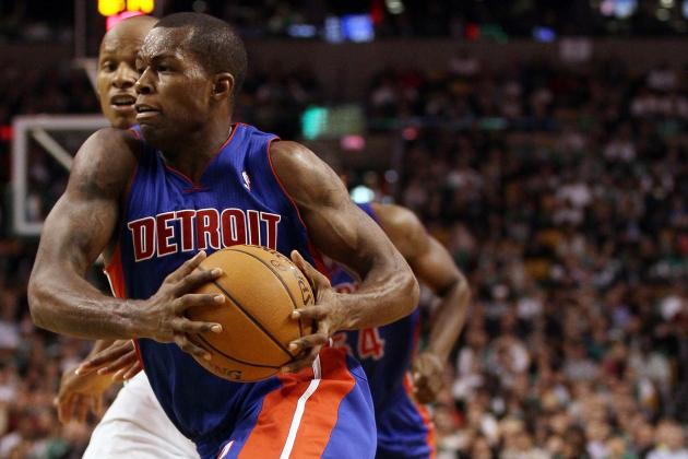 Detroit Pistons: Rodney Stuckey Finally Growing Up