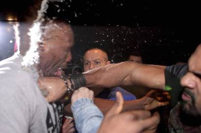 Dereck Chisora Facing Life Ban from Boxing after David Haye Brawl