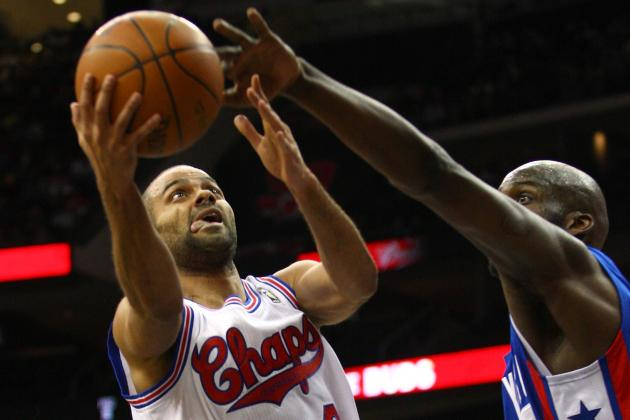San Antonio Spurs' MVP Tony Parker Keeps Foot Glued to Gas Pedal