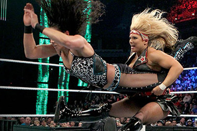 WWE Elimination Chamber: Tamina vs. Beth Phoenix Was a Success