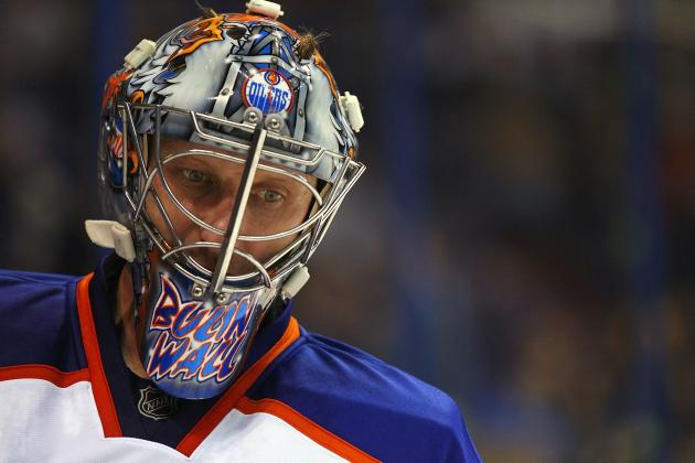 NHL Trade Rumors: Nikolai Khabibulin Injury Good for Goaltender Market
