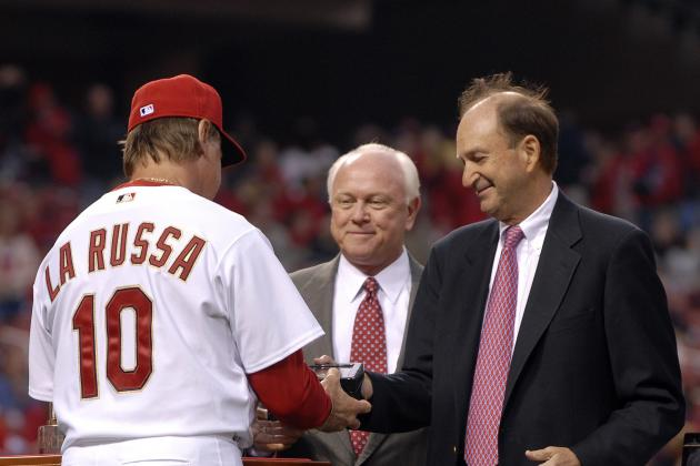 Cincinnati Reds: Is Tony La Russa Lying in Wait for Dusty Baker's Job?