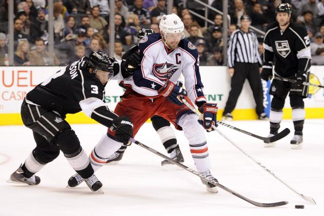 NHL Trade Rumors: Why Columbus Is Best off Sending Rick Nash to Los Angeles