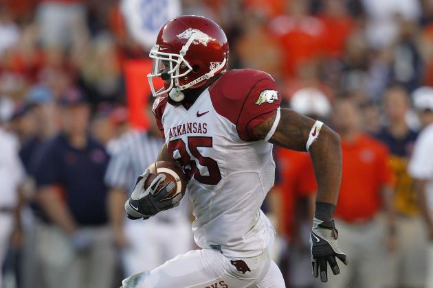 NFL Combine 2012: Former Arkansas Razorbacks Prepare for Grueling Combine
