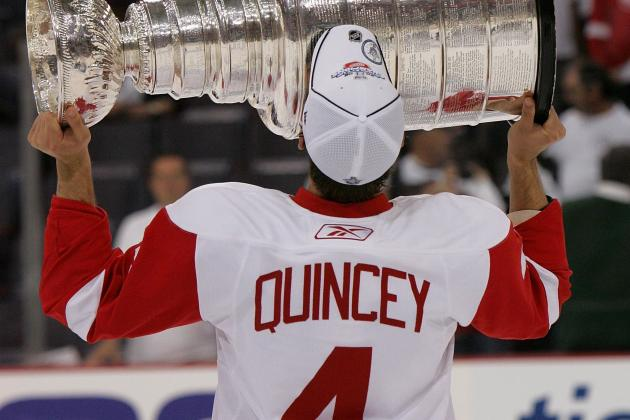 Kyle Quincey, After Avalanche-Lightning Deal, Winds Up with Detroit Red Wings