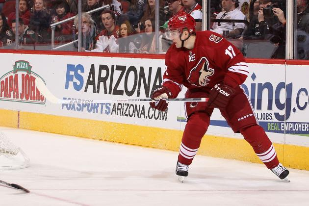 Don't Expect Major Deals from the Phoenix Coyotes